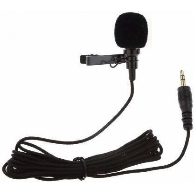 Collar Mic For Mobile Recording With Clip 3.55 Jack