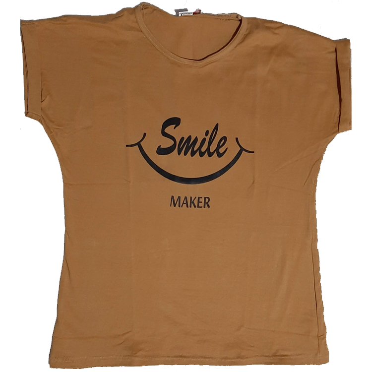 Ladies T-Shirt (Golden)