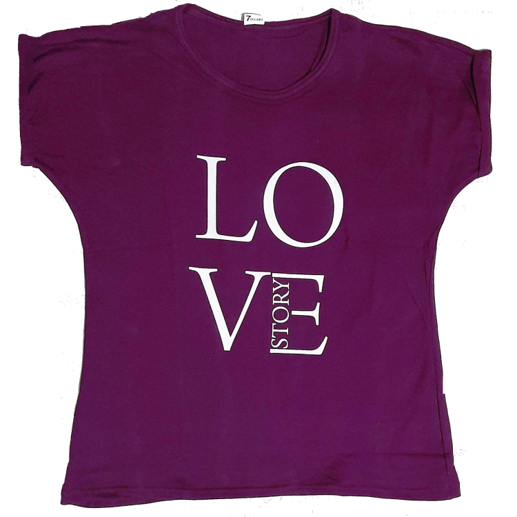 Ladies T-Shirt (Maroon)