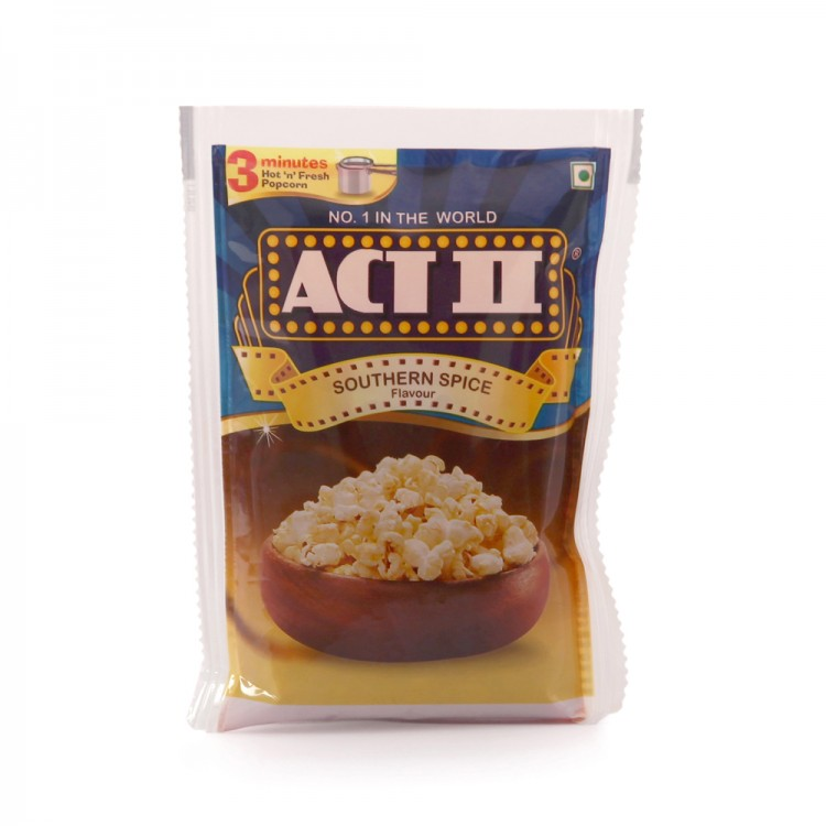 Act 2 Southern Spice Flavor Popcorn, 70g