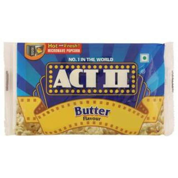 ACT 2 Microwave Popcorn - Butter Flavor 99 g