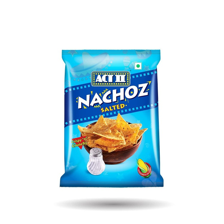 ACT 2 NACHOZ SALTED 60G CHIPS