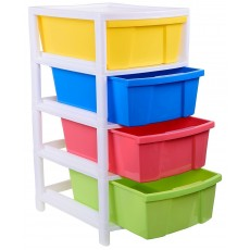 Multipurpose plastic storage container