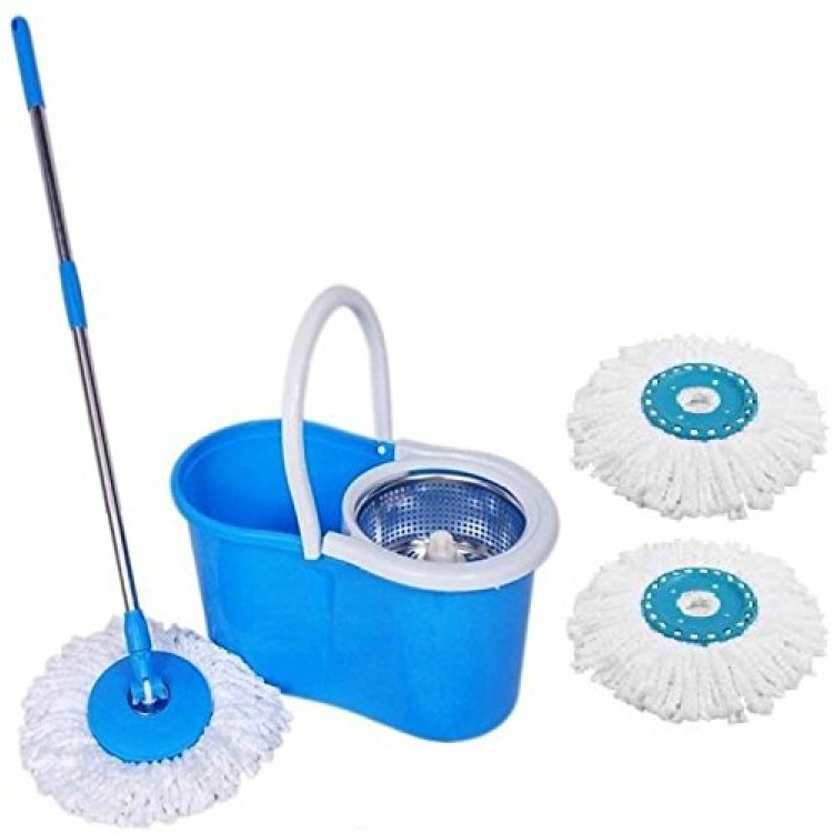 Spin Mop with Steel Jali