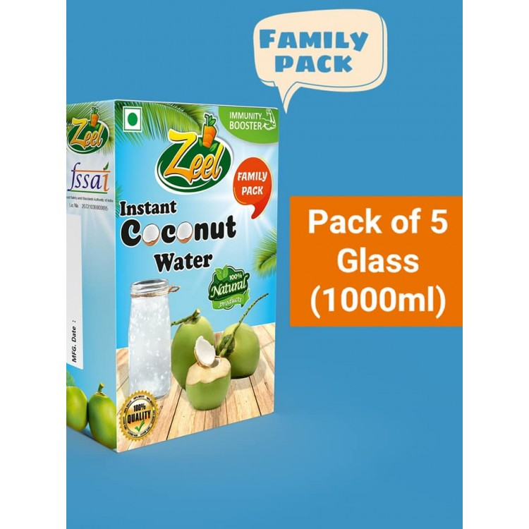 Instant Coconut Water (Family Pack)