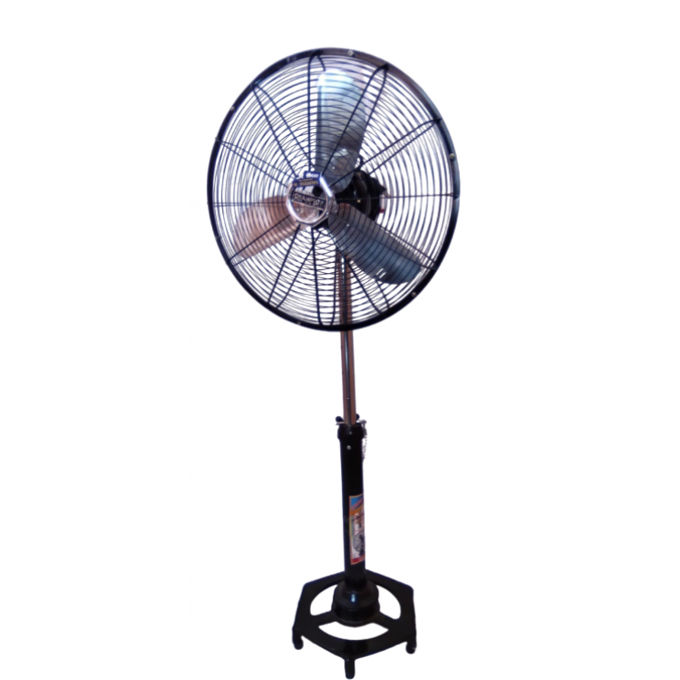 CHAMPION pedestal metal Fan ( Full Metal Black )