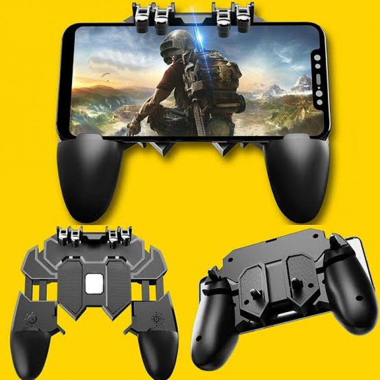 All-in-One Mobile Game Controller Fire Key Button Game pad