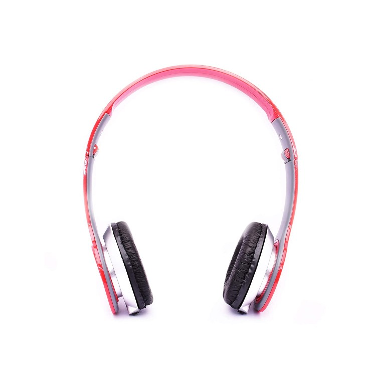 UBON GP-1360 Champ on Ear Headphone with Bass and Mic (Red)