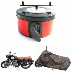 Semi Automatic Bike Cover Protector