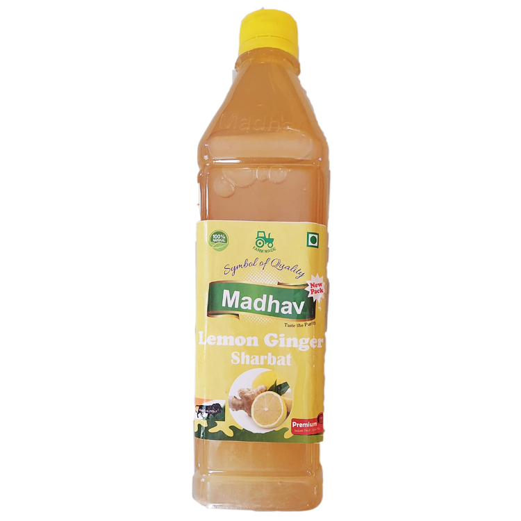 Madhav Lemon Ginger Sarbat